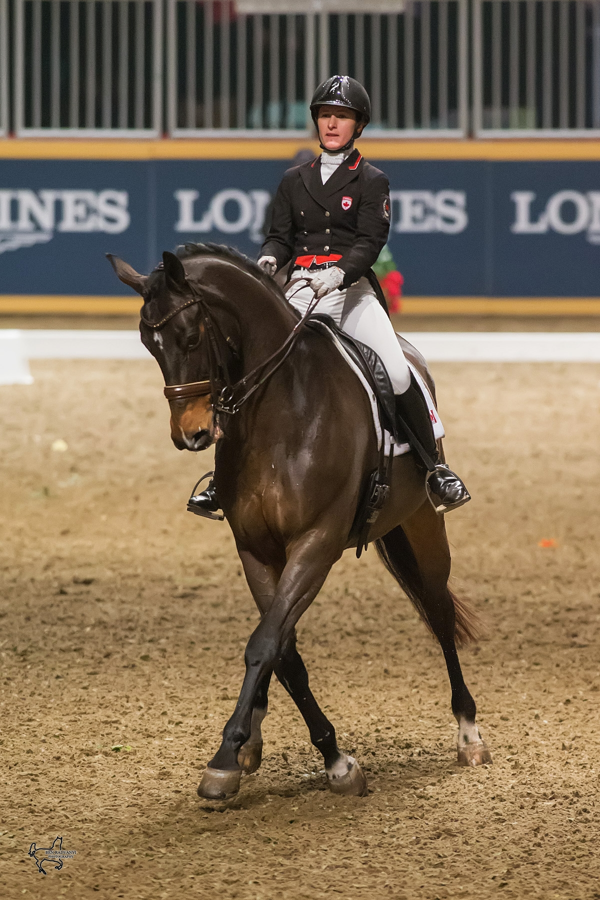 Belinda Trussell Tops $20,000 Invitational Dressage Cup at 2015