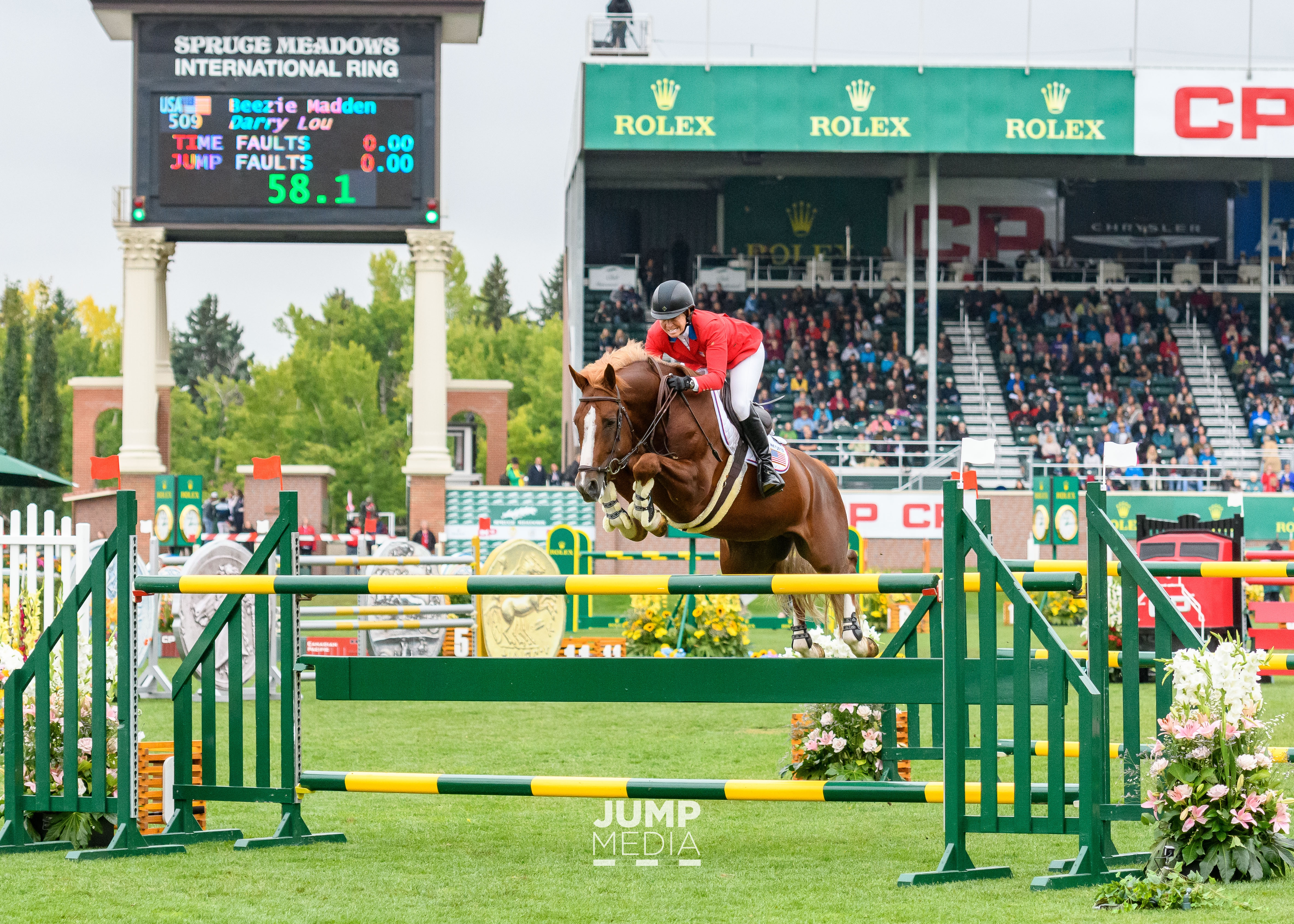 Beezie Madden and Darry Lou Win $3 Million CP 'International